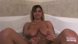 Only Video Ever Of Big Tit Brunette From The Midwest
