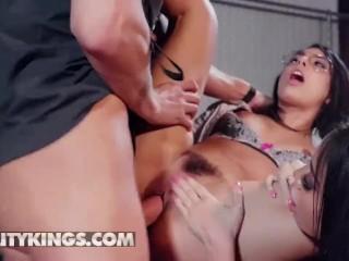 Reality Kings - Two latina Pornstars Gina Valentina & Victoria June share
