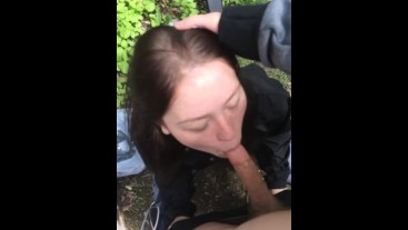 Sexy Teen Sucking Cock In Public