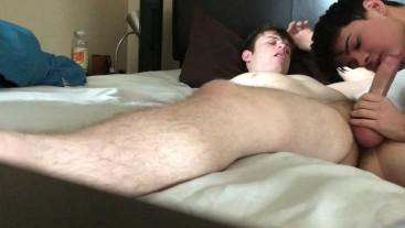 Real Amateur Boyfriends Flip Flop Fuck and Cum Bareback