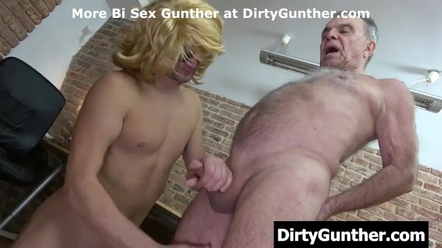 Hans gunther gay - Dirty gunther plays with young guy