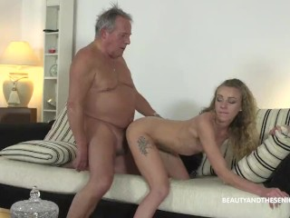 Youngstown Ohio Porn Fucking, GrandpA Gives Horny Teen a Piece of His Old Cock Blowjob Cumshot Hardc