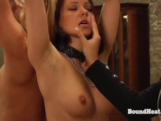 The Training of Erica: Two Women Punished By Reverse Position Enjoying Slave