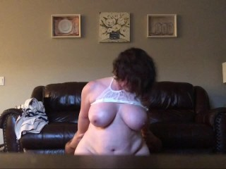 Sybian Solo Slutty Milf Bettie Gets Back At Cheating Husband By Fucking Fat Neighbor