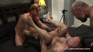 Young gay men masturbating