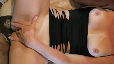 Friday night slut slowly Swallowing her monstrous 13 in cock with ease