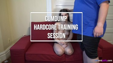 Cumdump Hardcore Training Session