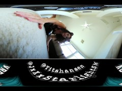 Caught by Giantess Kitty! 4k VR 360