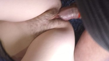 Closup of a thick cock fucking my milf pussy