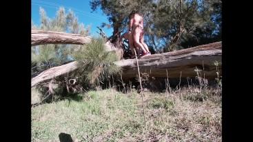 Huge Nude Hiking & Risky Outdoor Sex Adventure
