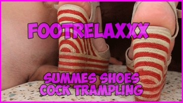 Summer Shoes Cock Trampling FootRelaxxx