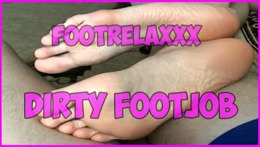 Dirty Soles Footjob FootRelaxxx