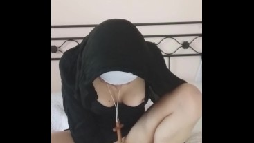 the nun Lovenia does not maintain a chastity