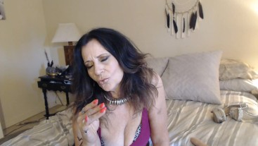 I WEAR gawdy long nails JOI _ custom video