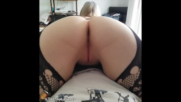 Fingering Young Step Sister Tight Pussy Stockings