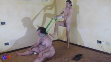 hard treatment for the slave - part 2