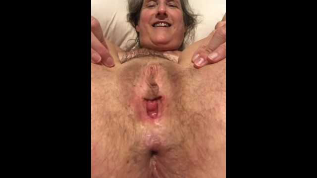 Grannys spread pussy 60 year old granny mom milf mature gilf tied up and spreading pussy