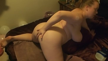 Anal Toy Play During Live Show Clip bbw milf buttplug