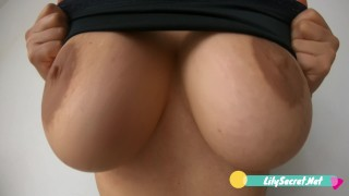 Big and Perfect Natural Tits 60FPS 4K Slow Motion - Lily Secret