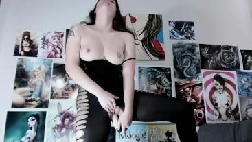 Seductive Bodystocking Masturbation