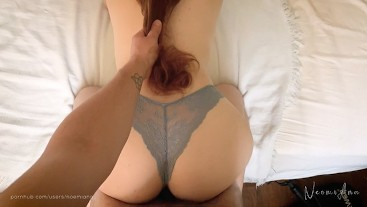 My redhead friend gets fucked in her tight pussy - NoemiAna