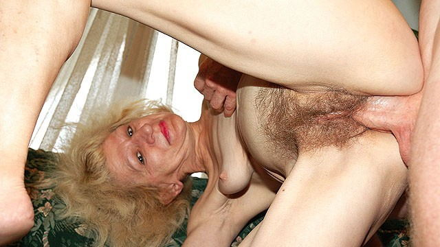 80 year old granny sex - Hairy 80 years old skinny stepmom rough fucked