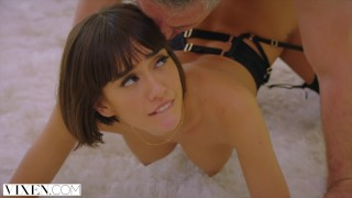 Screen Capture of Video Titled: VIXEN Janice Griffith Is A Bad Ass Sorority Queen