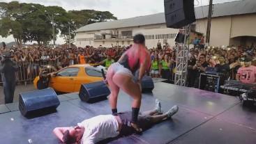 As Tequileiras do Funk Sentando Na Moral em Guaxupé - Mg - Brasil