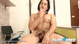 Simon Fiore on Flirt4Free - Athletic Latino Daddy Roleplay Before Cumming