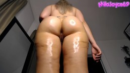 Oiled up PAWG Twerks for You