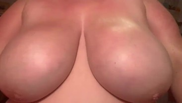BBW Lotions Huge Natural Tits