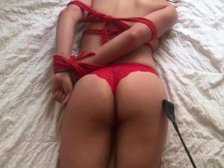 Show All Pornstars Dirty Teen Slut Gets Tied Up And Begs For Creampie