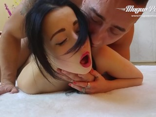 Swapping Mates Fucking, TaissiA Shanti gets a deep pussy fisting and fuck by MugurPorn Babe Big Dick