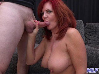 Sexy Nude Gallery Fucking, Mature redhead andi James and her big bouncy tits make me blow 2 loads