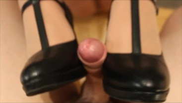 Extreme Close Up Heeljob
