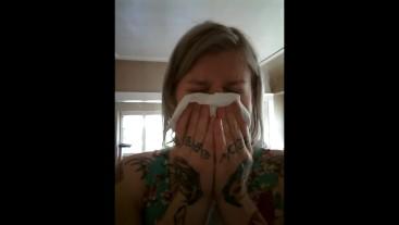 AM Allergies Sneezing & Nose Blowing