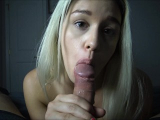The Adult Video Experience Presents Hot Blonde Edges Cock For Cum