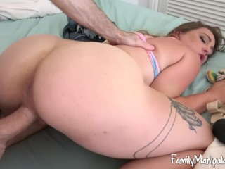 White girl boobs retrogaming, awesome blowjob ass creampie for this hot girl - sara