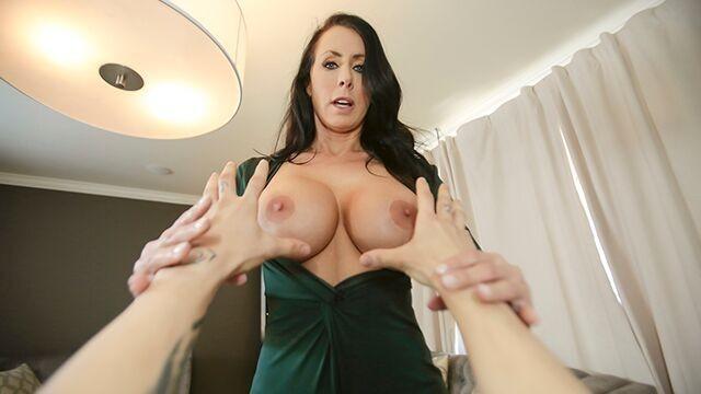 Mylf - Stepmom Lets Me Grab Her New Tits - Pornhubcom-7254