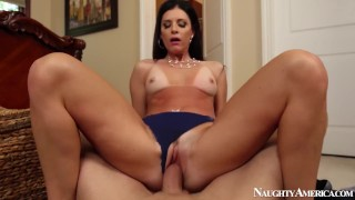 Naughty America - Mega Super MILF porn star India Summer in POV