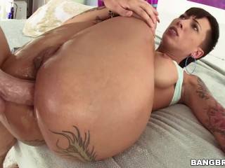 Bangbros tattooed pawg takes anal from mike adriano...