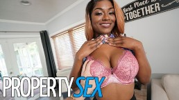 PropertySex - Homebuyer fucks naughty agent with big natural tits