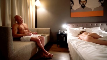 Hot couple fucking in the hotel room