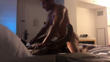 Nick Capra fucks Parker Payne Raw in New York City!