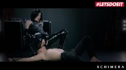 LETSDOEIT - Hot Czech Teen Fantasy Fucked Hard In Her Latex Suit