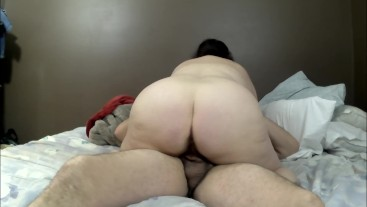 Sexy BBW Blowjob and Creampie