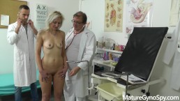 Spy cam installed in obgyn clinic caught medic fucking female patient