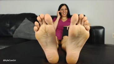 LICK THESE SOLES CLEAN