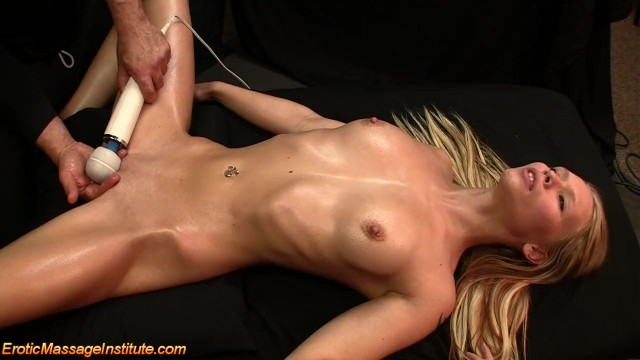Wisconsin female erotic models Sweet beauty gets erotic oil massage with fucking and blowjob