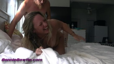 amateur blonde milf with younger guy